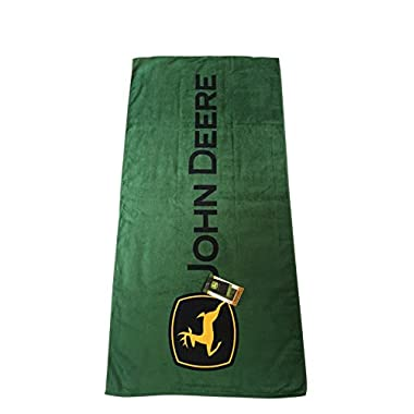 John Deere Adult Size Beach Towel 30  x 60
