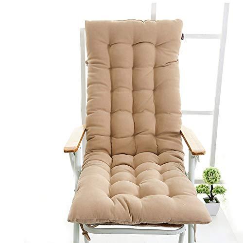 Coussin de Chaise Longue d'hiver Coussin de Chaise berçante Canne épaissie sous Le Patin Convient pour Le Salon de Bureau