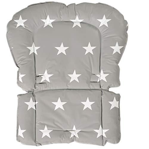 roba Universal Sitzverkleinerer, Hochstuhleinlage Folie 'Little Stars' phthalatfrei, Sitzpolster passend für Hochstühle