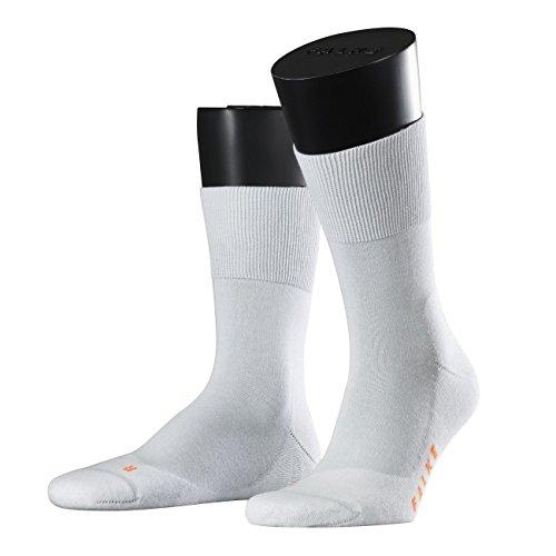 FALKE Sport Spirit Unisex Socken Run 2er Pack, Größe:46/48;Farbe:white