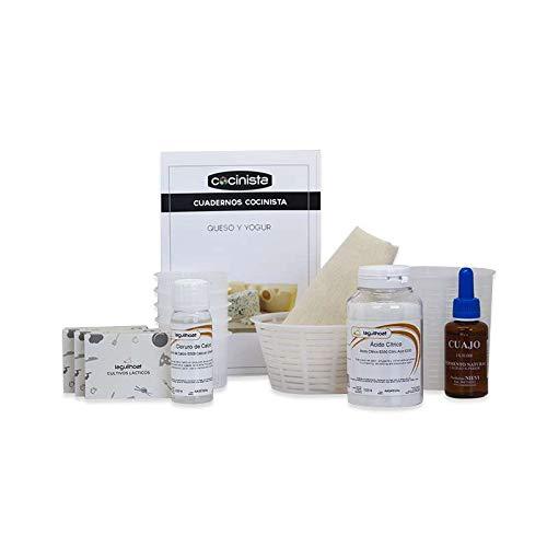 Cocinista Kit para Hacer Queso Fresco y Yogur