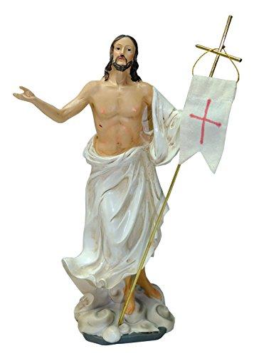 Kaltner Präsente-Regalo Idea-Figura de Cristo Jesús con Bandera Oster Resurrección Jesús auferstehungschristus