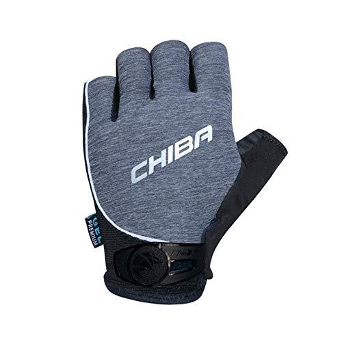 Chiba Lady Gel Premium Damen Fahrrad Handschuhe kurz grau 2019: Größe: M