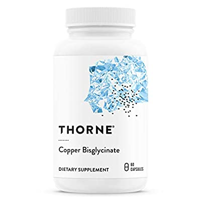 Thorne Research - Copper Bisglycinate - Trace Mineral Supplement - 60 Capsules