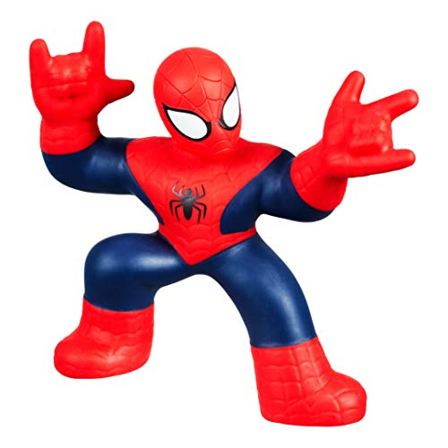 "Heroes of Goo Jit Zu Spider-Man Licensed Marvel, Super-Sized, Huge 8"" Tall Spider-Man 