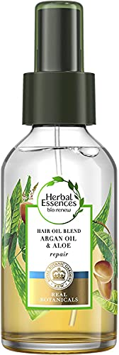 Herbal Essences Potent Aloe and Argan Oil Blend Repairing Treatment For Damaged Hair, 100ml