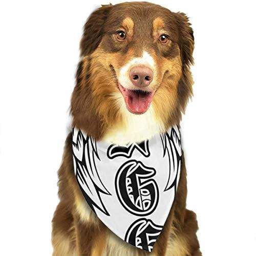 Vleugels Engel In De Gotische Stijl Aangepaste Hond Hoofddoek Heldere Gekleurde Sjaals Leuke Driehoek Bibs Accessoires Voor Huisdier Honden