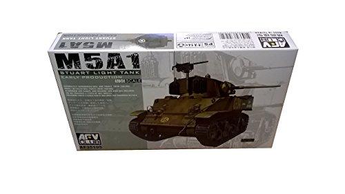 1/35 AFV Club M5A1 Stuart Light Tank Model AF35105
