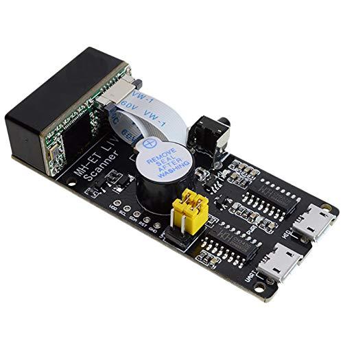 Bestlymood Qr / 1D / 2D / Code Scanner V3.0 Barcode Scan Erkennungs Modul Serielle Kommunikation Uart Schnittstelle USB Tastatur Eingabe