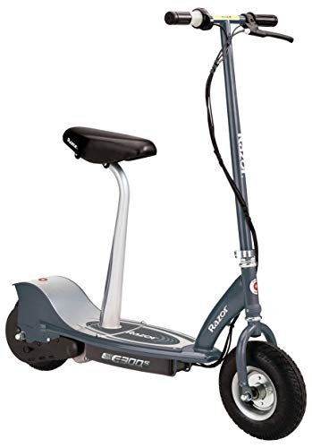 Our #3 Pick is the Razor E300S Seated Electric Scooter With Seat