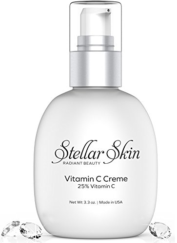 Vitamin C Face Cream - Best Daily Moisturizer for Anti Wrinkle and Vibrant Skin, Restores Skins Natural Moisture, Stimulate Collagen Regeneration, Anti Aging Skin Care Products from Stellar Skin