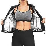 Ursexyly Women Hot Sweat Sauna Suit Waist Trainer Jacket Slimming...