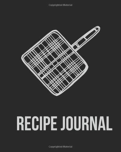 Recipe Journal: (Recipe Journal Vol. B03) Glossy Cover, (Size 8