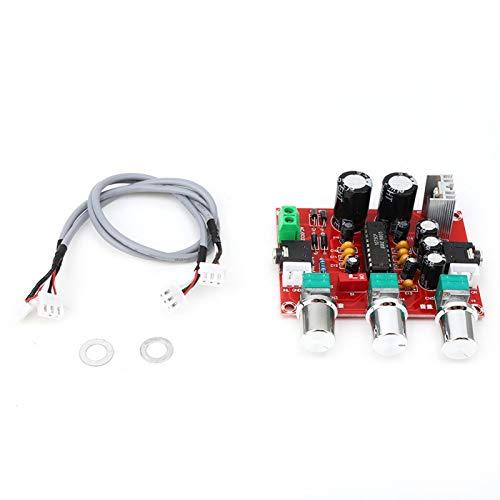 Placa de tono silenciosa XR1075 Placa de amplificador de tono BBE Tecnología bipolar Chip de volumen pequeño Componente industrial de 2 canales para amplificadores mejorados Altavoces