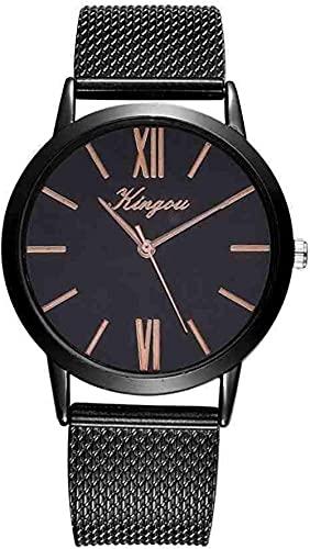 JZDH Mano Reloj Reloj de Pulsera Rosa Oro Sliver Malla de Acero Inoxidable Relojes De Drail Mujeres Lujo Casual Reloj Reloj de Pulsera Relogiono Relojes Decorativos Casuales