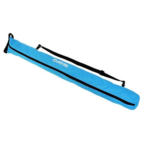 ATTRAC Nordic Walking Tasche 2 in 1 I Stocktasche Transport Aufbewahrungstasche I Pole Bag Blau superleicht (Blau)