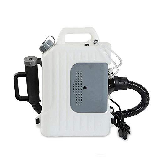 Nebulizador eléctrico de mochila 110v, 10L 1400w ULV Cold Foggers Pulverizador de gran capacidad para jardines