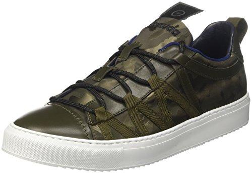 Barracuda BU2952, Sneaker basse Uomo, Verde (Militare), 44 EU