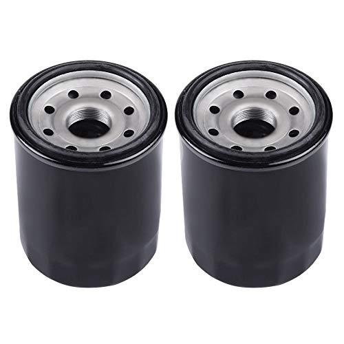AloneGoer 2pcs HF621 Oil Filter Compatible with Arctic Cat 1000 500 650 700 Alterra 1000 350 400 425i 450 500 550 700 90 TBX650 TBX700 TRV1000 TRV550 TRV650 TRV700 0812-029 0812-034 3436-021