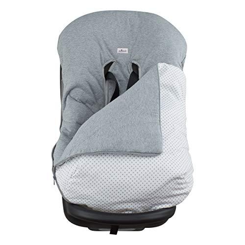 Imagen para JANABEBE Funda + Saco para silla de coche grupo 0 Grey Dots