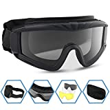 Best Airsoft Goggles - XAegis Airsoft Goggles, Tactical Safety Goggles Anti Fog Review