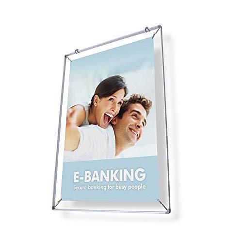 Spannrahmen A0 für Plakat Poster, Plakatrahmen, Posterrahmen Alu DIN A0