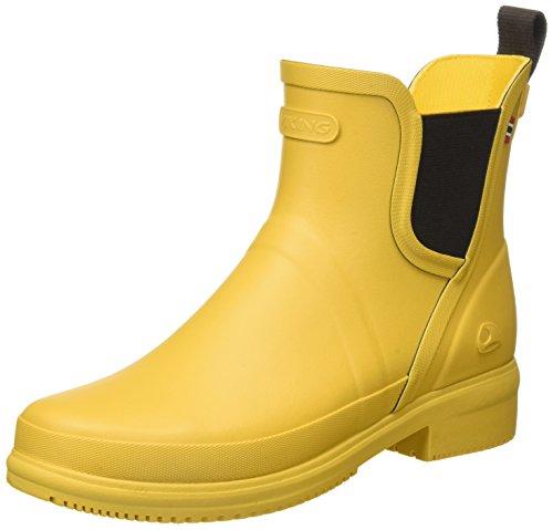 Botas de Agua para Mujer amarillas y negras
