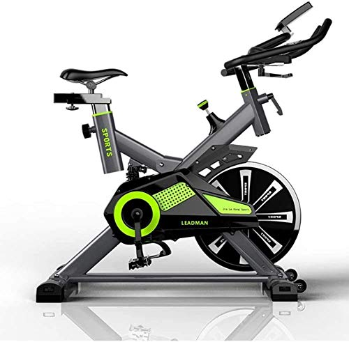 BECCYYLY Home Exercise Bike Ultra-Quiet Exercise Bike Indoor Exercise Bike Bicycle Fitness Equipment wmpa (Color : Green)