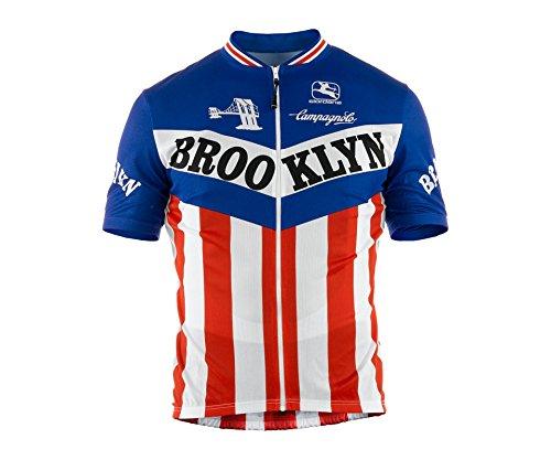 Giordana 2015 Herren Trikot Team Brooklyn Short Sleeve Radtrikot, Größe L