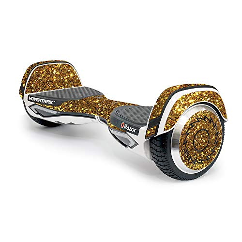 PowerUp MightySkins Razor Hovertrax 2.0 Gold Dazzle Hover Board with Protective, Durable, and Unique Vinyl Decal Wrap Cover
