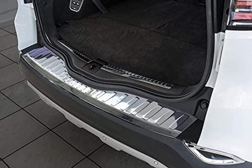 WIOP Acero INOX Placa Protectora Umbral Maletero para Renault Espace 2015-,Placas De...