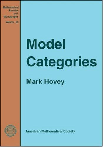 Model Categories (Mathematical Surveys and Monographs)