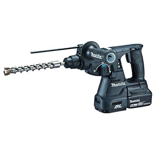 マキタ 充電式ハンマドリル18V 24�o/ハツリ可 SDS+ バッテリ・充電器付 黒 HR244DRGXB