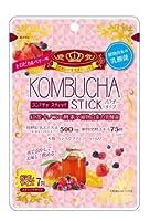 【1ケース分】【30個セット】ユーワ KOMBUCHA STICK 2g×7包×30個セット コンブチャ スティックトロピカルベリー風味