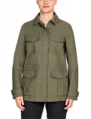 Jack Wolfskin Damen Rock View Jacket Freizeitjacke, Burnt Olive, S