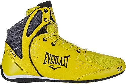 Everlast P00001078, scarpe da boxe, unisex, per adulto, Giallo (Strisce gialle e grigie.), 42 EU