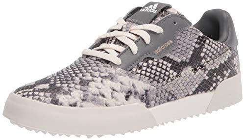 adidas Women's Golf Shoe, White/Grey/White, 9