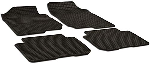 Alfombras de goma / alfombras de goma para Kia Carens ano de construcción 2006 - 2012