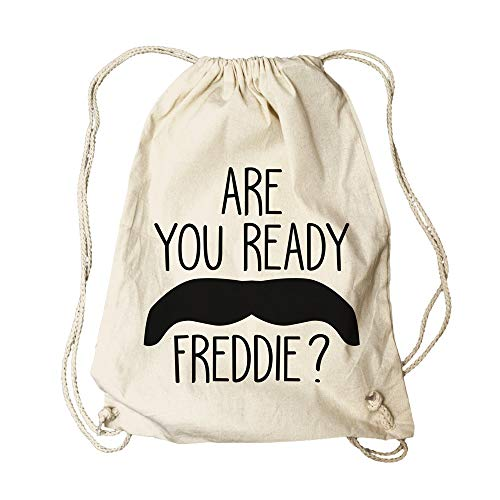 \m/-\m/ QUEEN - Freddie Mercury - Are You Ready - Turnbeutel/Rucksack/Gymbag