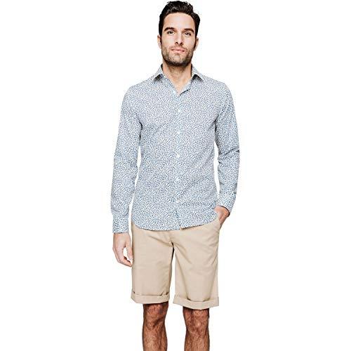 Arrow Herren Business-Hemd Gr. Kragenweite: 43 , marineblau