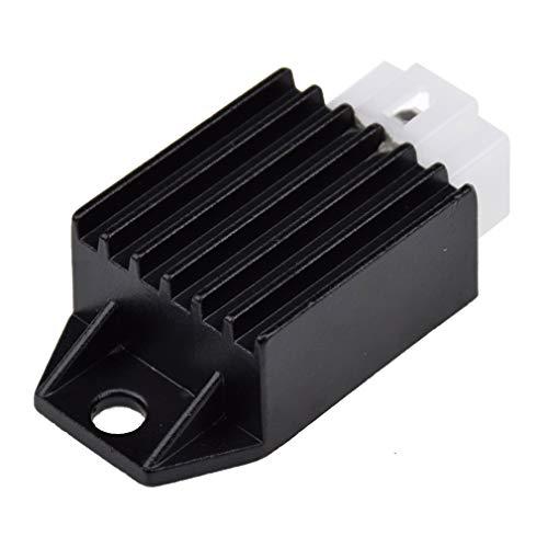 Voltage Regulator Rectifier 4 Pin for Tao Tao ATA-110 DATA135 125 Coolster 110CC ATV 3050B 3050B-2 3050C 3050D Roketa Kazuma Meerkat 50cc Falcon 90cc ATV Quad Howhit 150cc Go Kart