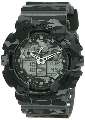Casio Mens G SHOCK Analog-Digital Sport Quartz Watch (Imported) GA-100CM-8A