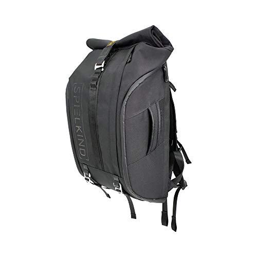 SPIELKIND Pro Backpack Kamerarucksack Fotorucksack schwarz 30L DSLR Spiegelreflex Drohne Kameratasche herausnehmbar Innenleben Tragegriff seitliche Öffnung