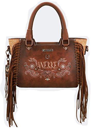 Anekke | Bolso con flecos marrón | Accesorios y Complementos para Mujer