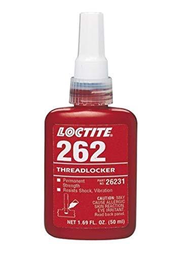 Genuine Henkel LOCTITE 262 X 250ML Red High/Med Strength Torque Tension Threadlocker
