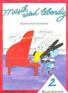 RICOS KONZERT 2 - arrangiert für Klavier [Noten / Sheetmusic] Komponist: NOONA CAROL + WALTER