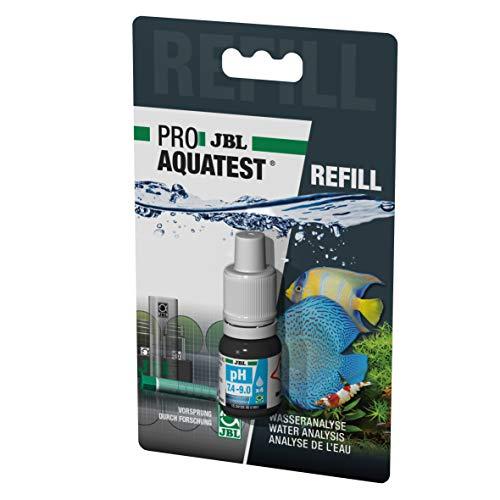 JBL Wassertest-Nachfüller, Für Teiche, Süß-/Meerwasser-Aquarien, ProAquaTest pH 7.4-9.0 Refill, 1 Stück