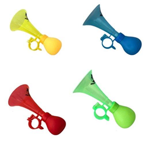 Megaprom Fahrradklingel Fahrradhupe Ballhupe Fahrradglocke Hupe Für Kinderfahrrad Klinge in 4 Farben