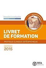 Livret de formation - Pratique clinique ostéopathique de Vladimir Sekelj