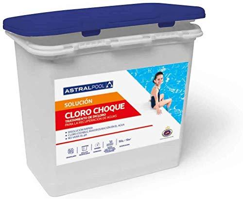 Dicloro granulado 55% Astralpool envase de 5Kg